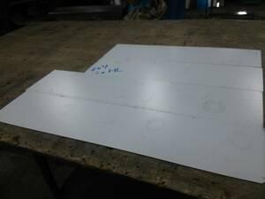 ステンレス切り板 約609×134×2枚 500×125×2枚