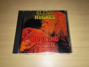 CD「GLENN HUGHES BURNING JAPAN LIVE」
