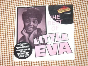 The Best Of Little Eva リトル エヴァ /US 良POPS/ The Loco Motion Keep Your Hands Off My Baby Let's Turkey Trot 等15曲収録 良ベスト