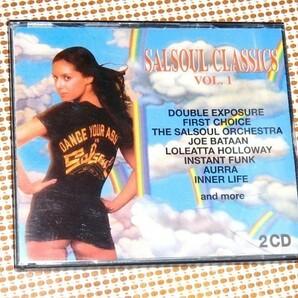 廃盤 2CD Salsoul Classics Vol. 1 / サルソウル 20曲入良質コンピ/ Joe Bataan Instant Funk Loleatta Holloway Ripple Skyy Aurra 等収録