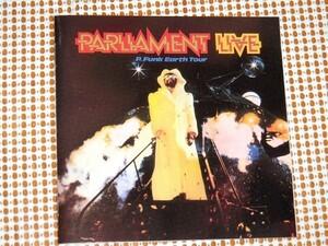 廃盤 Parliament Live パーラメント P.Funk Earth Tour / P-FUNK 傑作 ライヴ盤 / Eddie Hazel Bootsy Collins Bernie Worrell 鉄壁の布陣