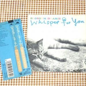廃盤 2in1 BLOSSOM DEARIE ブロッサム ディアリー WHISPER FOR YOU /That's Just The Way I Want To Be + Give Him The Ooh-La-La 小西康陽
