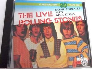 希少 廃盤 The Live Rolling Stones Olympia Theatre 1965 paris ローリング ストーンズ Carol Route66 Everybody Needs Somebody To Love
