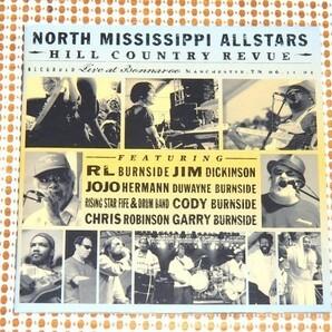 廃盤 North Mississippi Allstars Hill Country Revue / jam band ~ BLUES LIVE良作/ R.L. Burnside Jim Dickinson Chris Robinson 参加