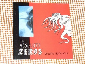廃盤 The Absolute Zeros アブソルート ゼロス Dreams Gone Sour / Big Deal / Steve ( Chopper Bleached Black ) + Evan ( Shiv )