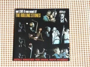 廃盤 abkco盤 The Rolling Stones ローリング ストーンズ Got Live If You Want It ! / Brian Jones 在籍時 名ライヴ/ Satisfaction 収録
