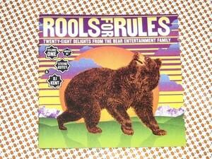 廃盤 2CD Rools For Rules / Stevie Kotey DJ Kent /Bear Funk / Oorutaichi ( Idjut Boys remix) Todd Terje ( Prins Thomas remix)等使用