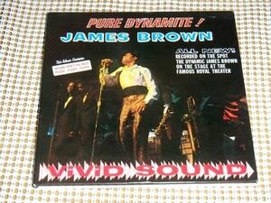 限定廃盤 紙ジャケ James Brown ジェームス ブラウン Pure Dynamite Live At The Royal ピュア ダイナマイト Bobby Byrd Bobby Bennett