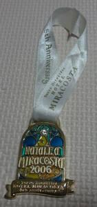 非売品 ディズニー シー ホテル ミラコスタ 5周年 ワインメダル 2006 クリスマス レア