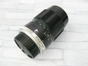 ジャンク◎Minolta MC Tele Rokkor QD 135mm 1:3.5 レンズ◎D-15