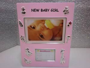■大阪 堺市 引き取り歓迎!■新品 アルバム フォトスタンド フォトフレーム 可愛い ピンク 写真立て ストック品 赤ちゃん 子供■