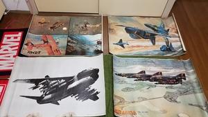 送料無料★マニア必見アメリカン 日本 ポスター 壁掛け 装飾 戦闘機 飛行機 戦艦 戦争 兵器