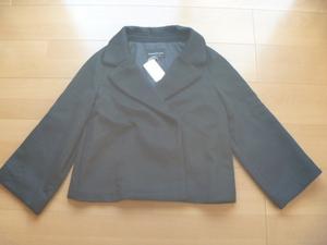 定価27000円ストロベリーフィールズ黒ショートコート新品