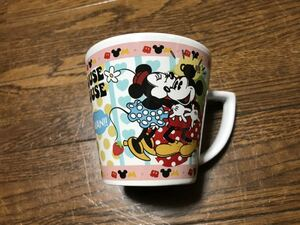 ミッキー ミニー マグカップ サイズ 口径・約9cm×高さ・約8.5cm ウォルトディズニー
