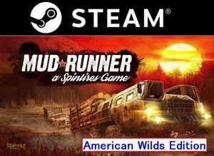 即日対応!【PC/STEAM版】 Spintires: MudRunner スピンタイヤ マッドランナー American Wilds Edition 日本語可