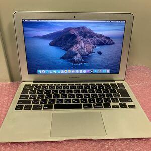 MacBook Air Mid 2012 Core i5-3317U 1.70Ghz RAM:4GB/SSD:128GB/11インチ 動作品 app10