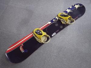 124【S.R】PALMER SNOWBOARDS 151 バインディング付スノーボード板 香川発