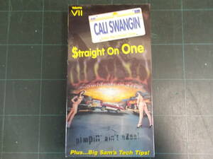 L.A. also popular number 1. Street Lowrider Ame car VHS video ka squirrel one silver VII MAR CALI SWANGIN postage 370 jpy