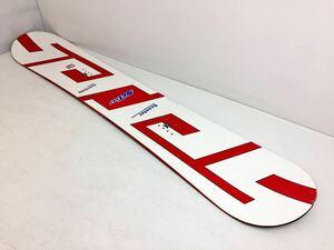 #1170◆送料120サイズ/SCOOTER スクーター SCT 147cm フリースタイル ツインチップ スノーボード 赤×白 板 中古◆