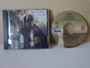 used CD / TWICE AS MUCH THAT'S ALL トゥワイス・アズ・マッチ / IMMEDIATE【US/SONY】