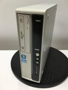 A15519)大容量 NEC J ML-D(MK33LL-D) PC本体 搭載Intel Core i3-2120 3.30GHz/8GB/1TB/DVDRW/Win10 Pro 64Bit