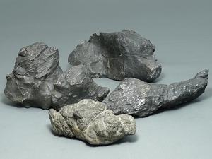 ▲60TM167▲水石・古谷石・鑑賞石4点2411g/盆石銘石盆景天然石