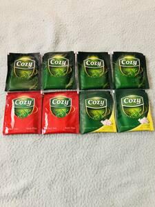 ベトナム 茶 ティー レッド ジャスミン 8 バッグ 緑茶 グリーンティー cozy