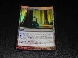 FOIL/錬金術師の隠れ家/Alchemist's Refuge/アヴァシンの帰還/日本語版/MTG1枚
