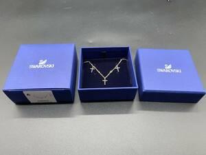 〓スワロフスキー〓未使用品 SWAROVSKI ミニクロス(Mini Cross ) チョーカー5395809 @レディース 十字架 女性へのプレゼントに!!