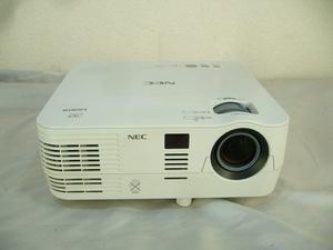 *2800 люмен *NEC DLP проектор ViewLight NP-VE282XJD* б/у * нет пульта управления *HDMI* лампа время использования 1814h*