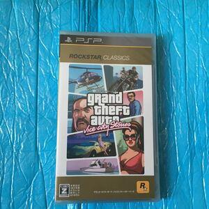 グランド・セフト・オート バイスシティ・ストーリーズ 新品 未開封 PSP 梱包ビニールに防犯シール貼って有ります
