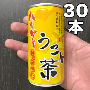 ハイサイうこん茶 190g 30缶(1ケース) 新品 未開封品 ( 沖縄限定 ご当地 ソフトドリンク お茶 うっちん茶 ウコン茶 鬱金