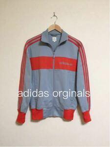 adidas originals アディダス オリジナルス ジャージ トラックトップ ジャケット 長袖 サイズS グレー