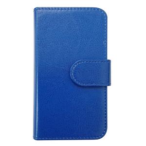 Xperia X Compact SO-02J PUレザー 手帳型 ケース ダークブルー かわいい シンプル おしゃれ