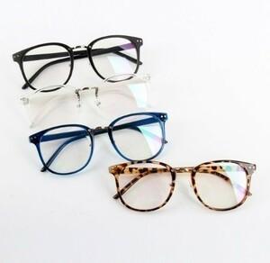 K89 1円~ 新品 ユニセックスタイド光学ガラスレディースメンズ新ラウンドフレーム眼鏡 眼鏡