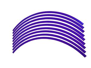 ●バイク ホイール リムステッカーリムラインテープ【10インチ用 5mm幅 青】NSR50 NSR90 モンキー ゴリラ GROM APE シグナス Z125 スクー