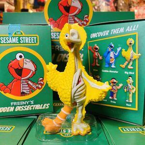 Sesame Street Freeny's Hidden Dissectibles セサミストリート 半分骨 フィギュア ビッグバード トイ おもちゃ mighty jaxx