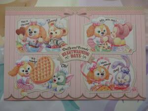 即決 新品 東京ディズニーシー ハートウォーミング・デイズ 2020 ポストカード ダッフィー シェリーメイ ジェラトーニ ステラルー クッキー
