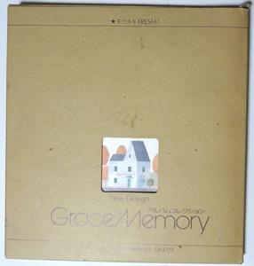 未使用保管品 80s Vintage Photo album Grace Memory フォトアルバム 千趣会 写真/手づくり/DIY/記録/記念/思い出/卒園 卒業/昭和レトロ