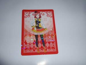 西木野 真姫 「SUNNY DAY SONG/?←HEARTBEAT」 CD特典トレカ μ's ラブライブ! 限定 トレーデイング カード ラブカ