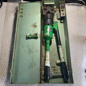【中古品】カクタス/CACTUS 手動油圧式圧着工具 S-150D型