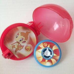 651)ポケモン こま ヒコザル ほのお ポケットモンスター ボール おもちゃ マクドナルド ハッピーセット