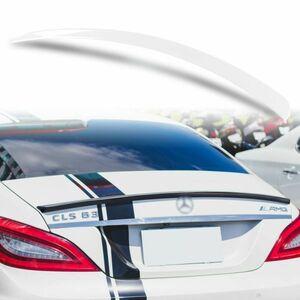 純正色塗装 ABS製 トランクスポイラー メルセデスベンツ CLSクラス W218用 セダン 前期 Aタイプ カラーコード:799 MTS-27179