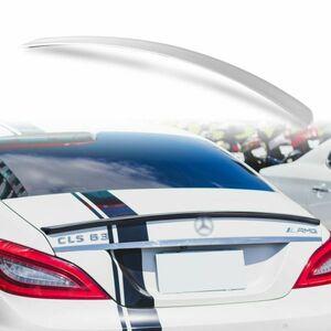 純正色塗装 ABS製 トランクスポイラー メルセデスベンツ CLSクラス W218用 セダン 前期 Aタイプ カラーコード:775 MTS-27179