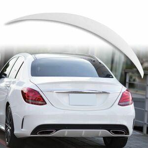 純正色塗装 ABS製 トランクスポイラー メルセデスベンツ Cクラス W205用 サルーン Aタイプ カラーコード:149 MTS-27929
