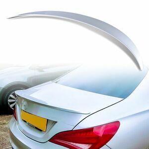 純正色塗装 ABS製 トランクスポイラー メルセデスベンツ CLAクラス C117 W117用 4ドアクーペ Aタイプ カラーコード:761 MTS-28483