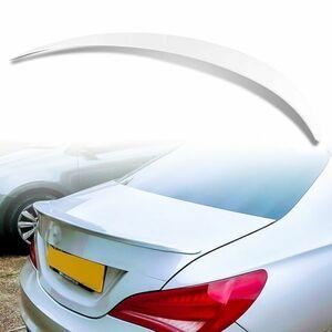 純正色塗装 ABS製 トランクスポイラー メルセデスベンツ CLAクラス C117 W117用 4ドアクーペ Aタイプ カラーコード:650 MTS-28483