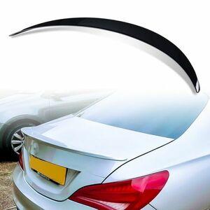 純正色塗装 ABS製 トランクスポイラー メルセデスベンツ CLAクラス C117 W117用 4ドアクーペ Aタイプ カラーコード:696 MTS-28483