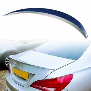 カスタム塗装 ABS製 トランクスポイラー メルセデスベンツ CLAクラス C117 W117用 4ドアクーペ Aタイプ MTS-28483