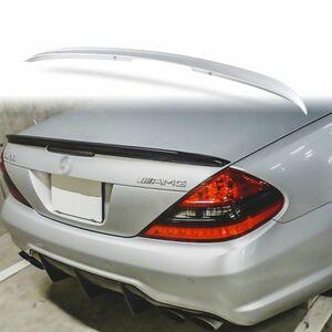 純正色塗装 ABS製 トランクスポイラー メルセデスベンツ SLクラス R230用 Aタイプ 両面テープ取付 カラーコード:775 MTS-27148